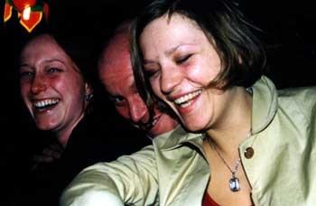 Sandra, Karsten, Caroline